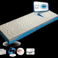 Amve Στρώμα AZZURA - ΥΛΙΚΟ: Waterfoam and Memory Natural -ΥΨΟΣ: 20cm