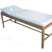 Εξεταστικό κρεβάτι ξύλινο με προσκέφαλο με τρύπα