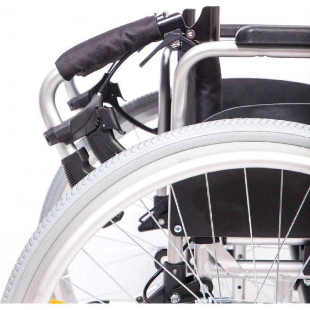 Αναπηρικό αμαξίδιο ALU IV 41cm QR Lion