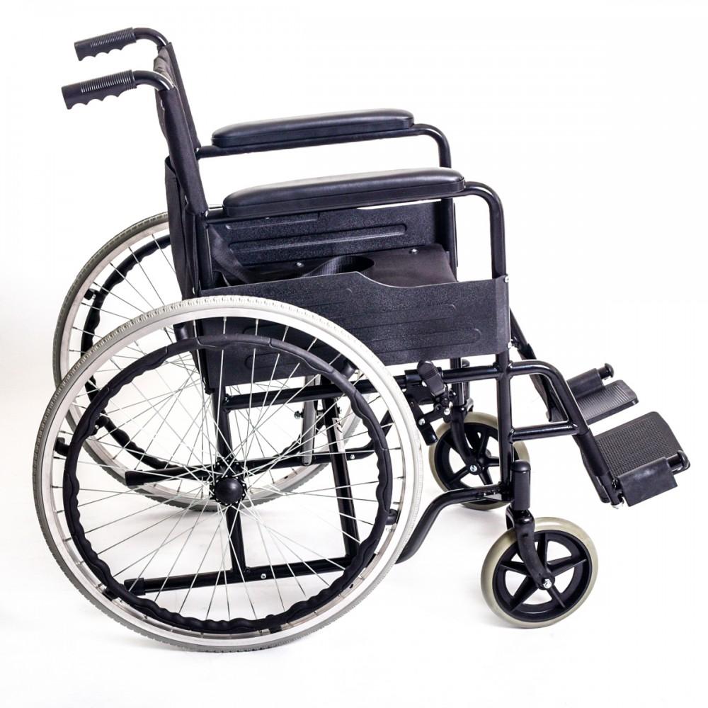 Αναπηρικό αμαξίδιο απλού τύπου, πτυσσόμενο με μεγάλους συμπαγείς   τροχούς Brother Medical