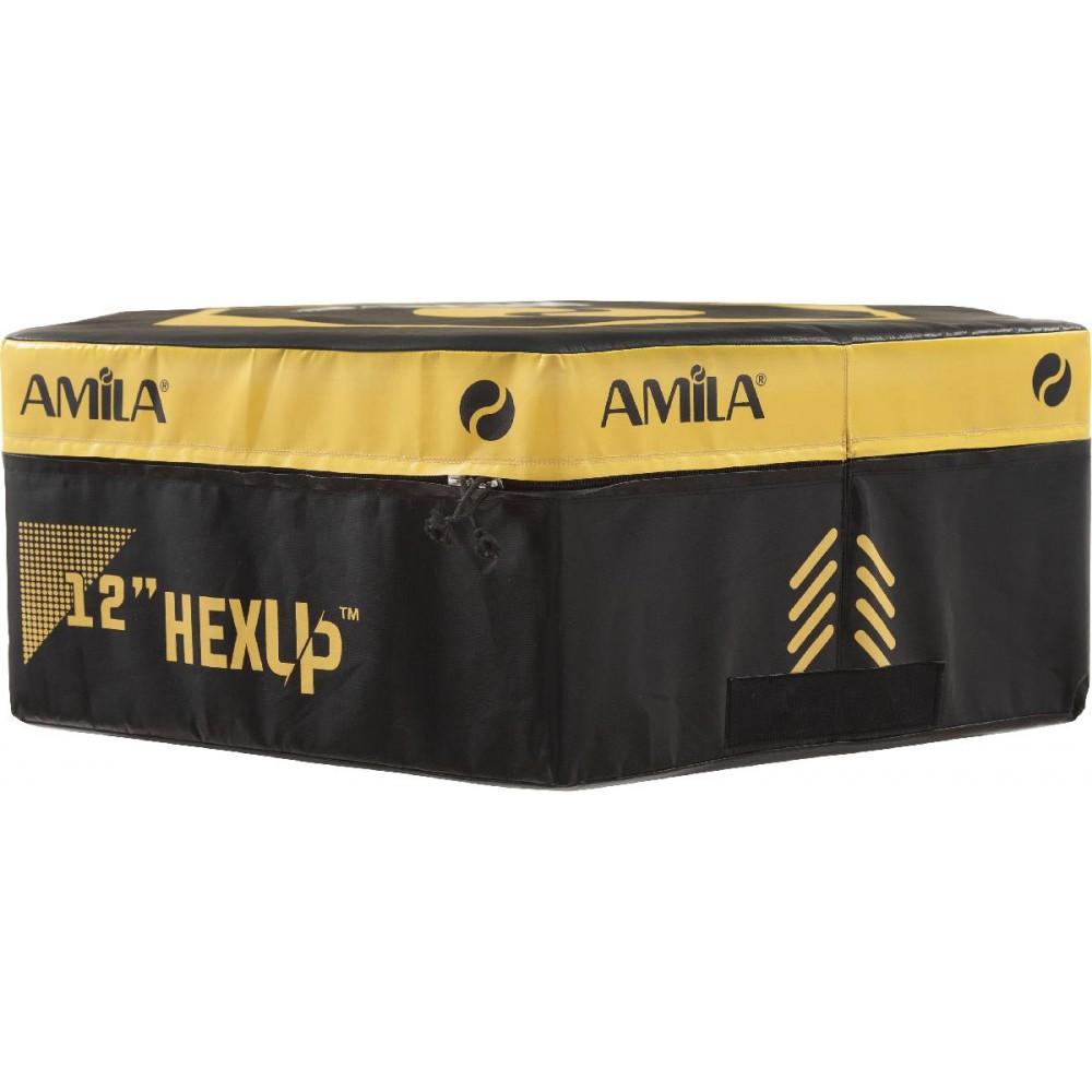 Εξάγωνο Πλειομετρικό Κουτί AMILA HEXUP™ 30cm